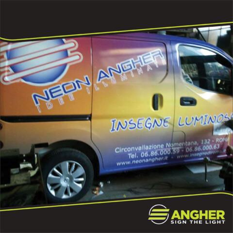 Decorazione automezzo Neon Angher