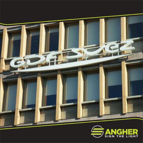Insegna grande impianto Gdf Suez