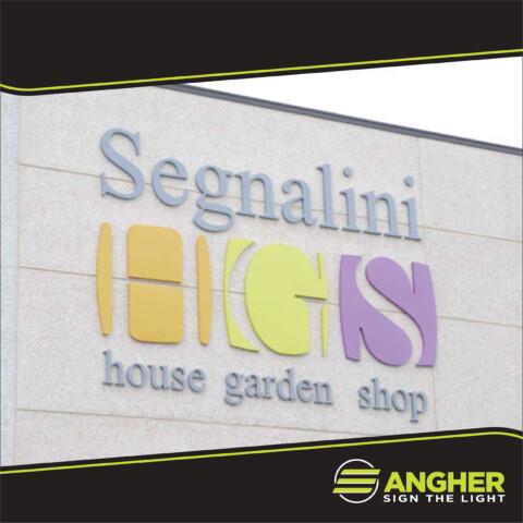Insegna grande impianto Segnalini HGS