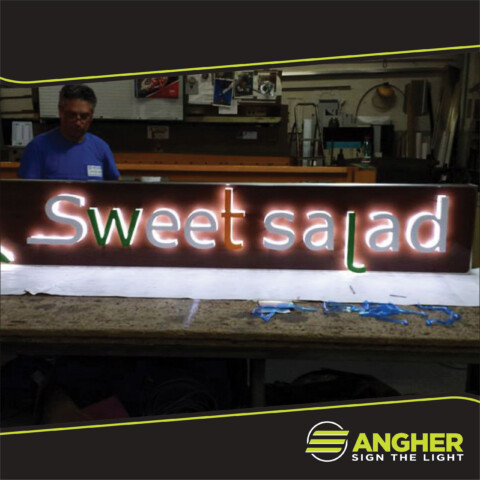 Insegna Luce Riflessa Sweet Salad