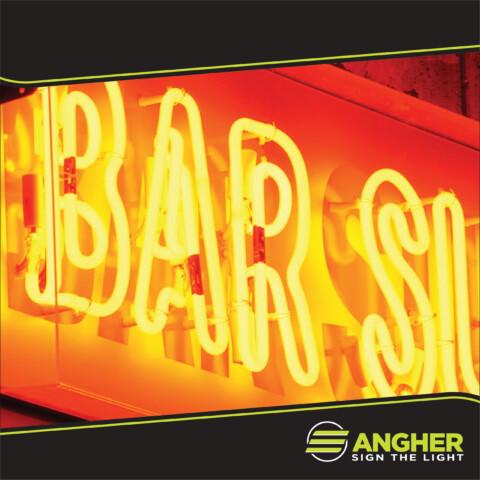Insegna Filo Neon Bar