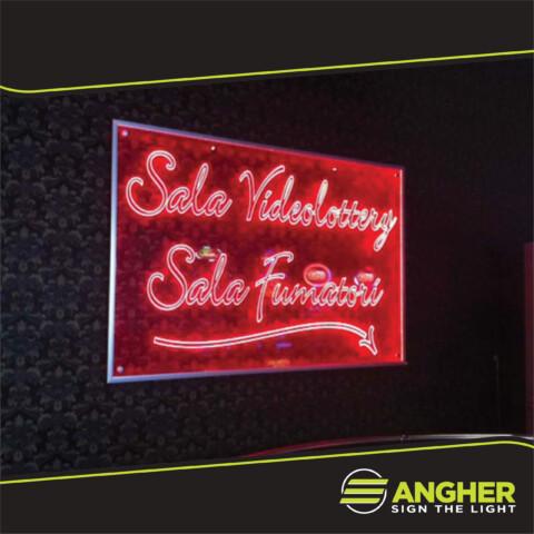 Targa Sala Videolottery