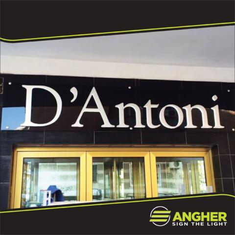 Insegne Led D'Antoni