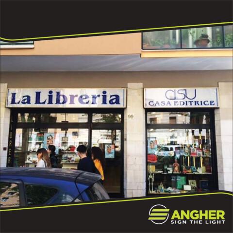 Insegna a Cassonetto La Libreria