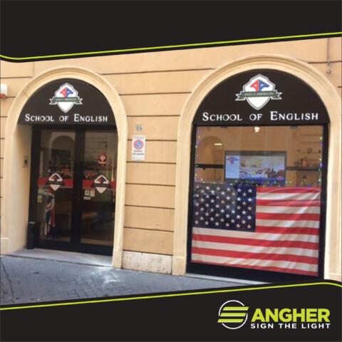 Insegna a Cassonetto School of English